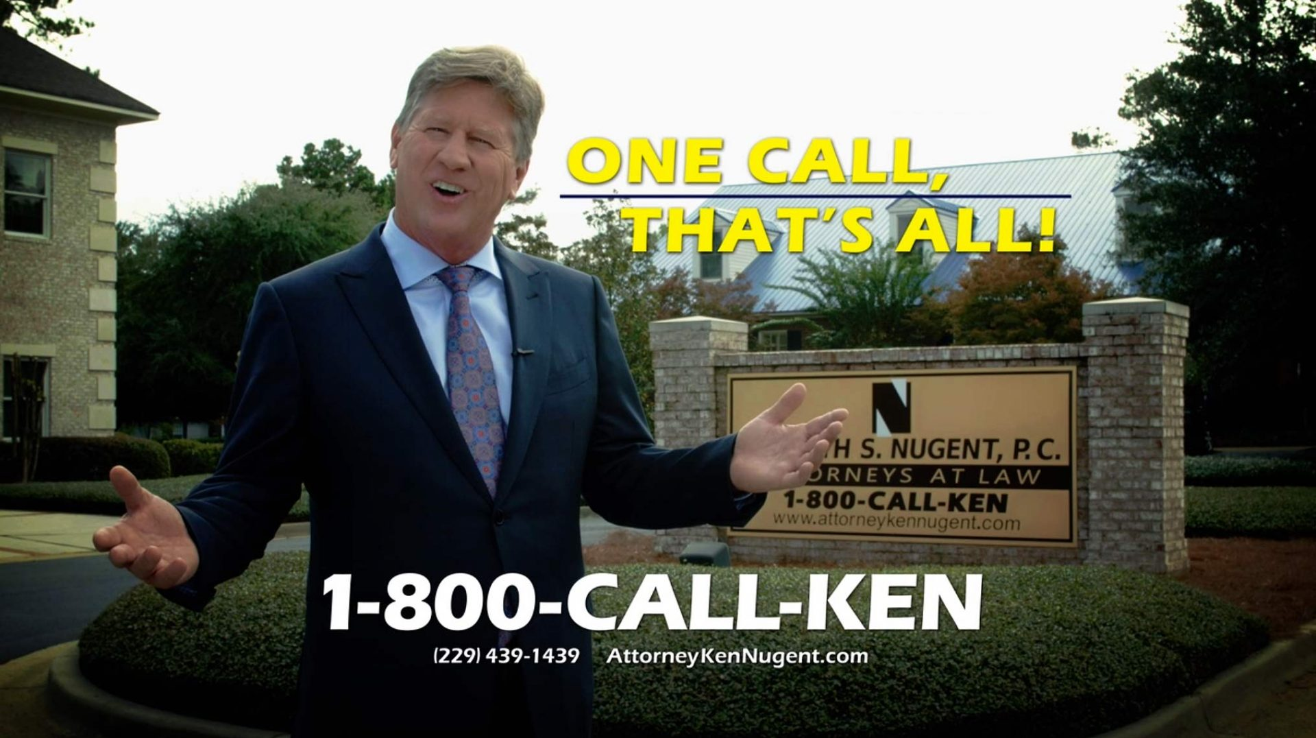 Georgia Accident Attorney Ken Nugent - Atlanta Personal
