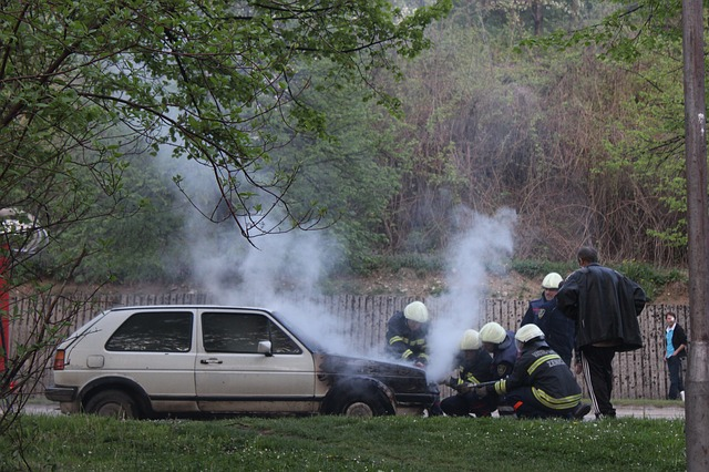 Savannah car fire