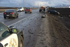 Decatur, GA – Two-Car Accident on I-285 in Westbound Lanes