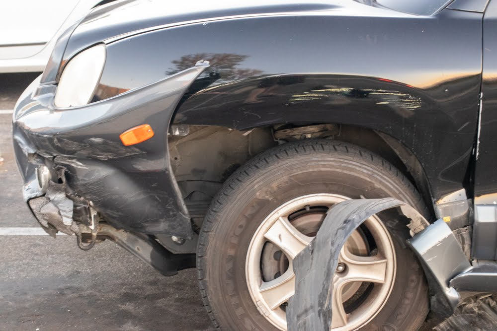 Decatur, GA – Chain-Reaction Collision in WB Lanes of GA-402